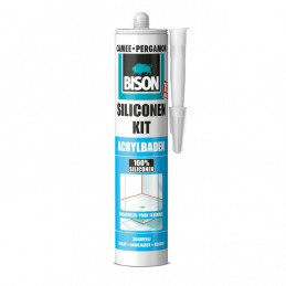 Bison siliconenkit acrylbaden camee 310 ml