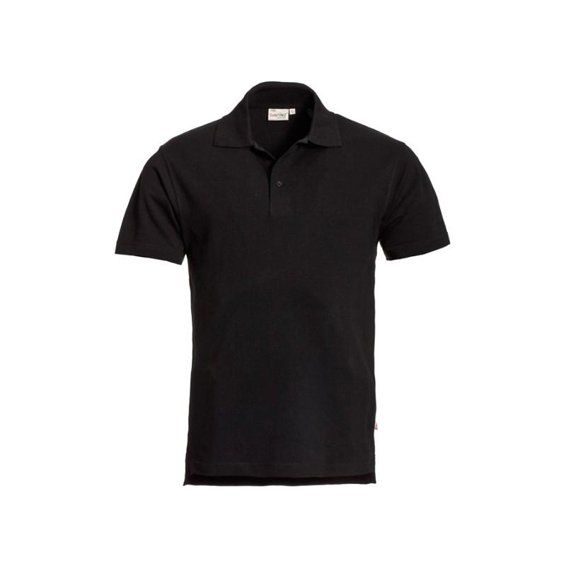 Poloshirt zwart