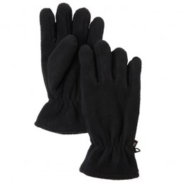Fleece handschoen zwart