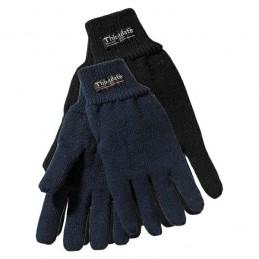 Handschoen gebreid acryl zwart