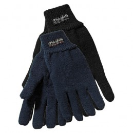 Handschoen gebreid acryl Marine