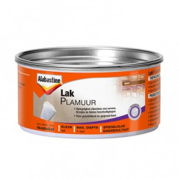 Alabastine lakplamuur wit 800 gram