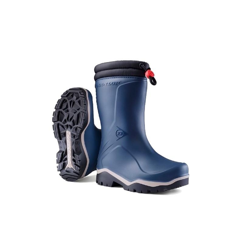 Dunlop Blizzard Kinder winterlaars blauw