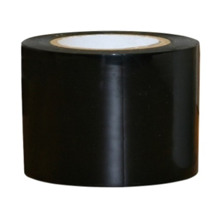Kuiltape zwart 10m x 5cm