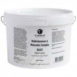 Multivitaminen & Mineralen Complex Basis Paard & Pony 1.5 kg
