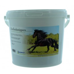 Knoflooksnippers voor paarden