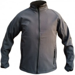Heren softshell jas 60250 antraciet