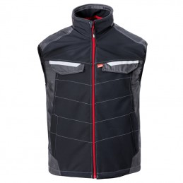 Attitude bodywarmer 50184 Charcoal zwart