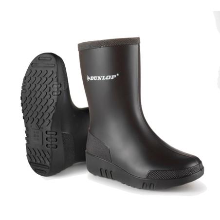 Dunlop mini laars Zwart