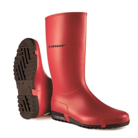 Dunlop Sportlaars rood