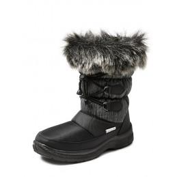 Gevoerde winterlaars CW96 Zwart