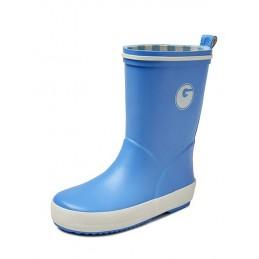 Groovy rubber kinderlaars blauw