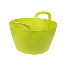 Flexibele mand groen 12 liter