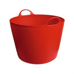 Flexibele mand rood 28 liter
