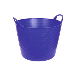 Flexibele mand blauw 42 liter