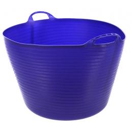 Flexibele mand blauw 60 liter