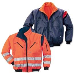 Signalisatie Pilotjack oranje reversible