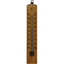 Houten thermometer 20 cm
