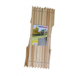 Houten klimrek voor planten 30 x 180 cm