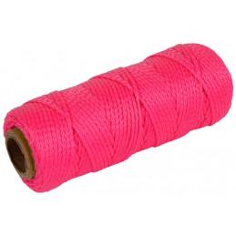 Metselkoord roze 1,5 mm 50 meter