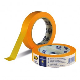 Afplakband Masking tape 4400 oranje 25 mm x 25 m