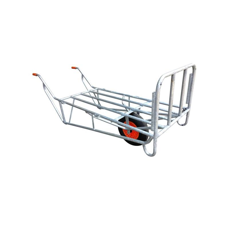 Ramenwagen 145 x 65 cm met 1 wiel
