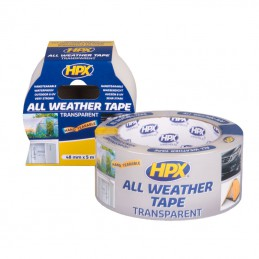 All Weather Tape transparant 48 mm x 5 m