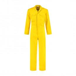 Kuipers overall polyester / katoen geel