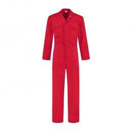 Kuipers overall polyester / katoen rood