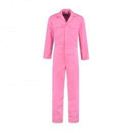 Kuipers overall polyester / katoen roze