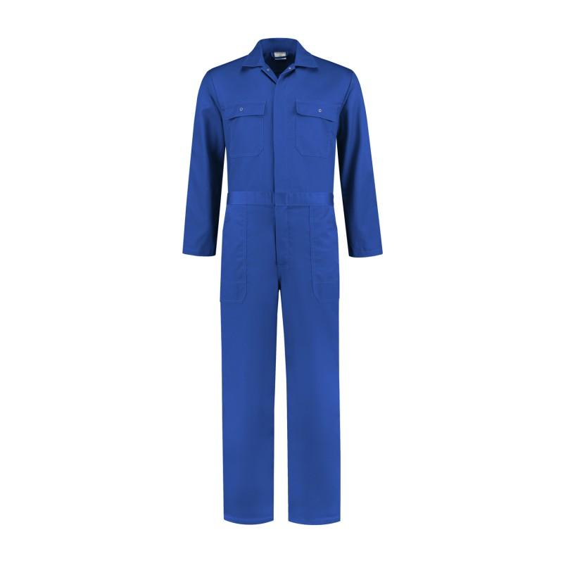 Kuipers overall polyester / katoen korenblauw