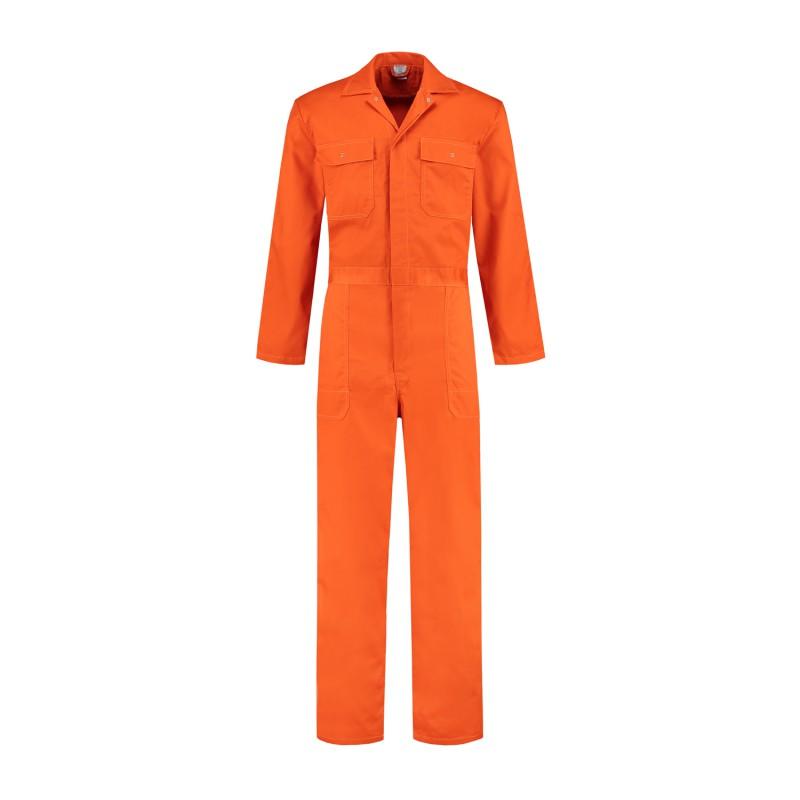Kuipers overall katoen oranje