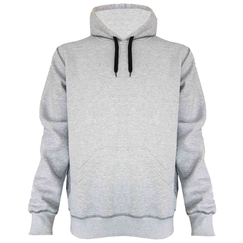 Hooded Sweater grijs hedmark storvik