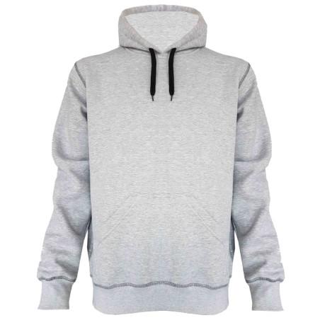 Hooded Sweater grijs hedmark storvik