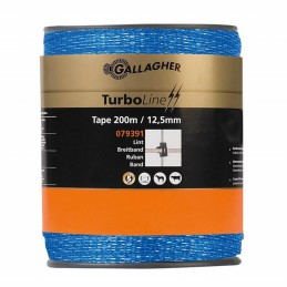 Blauw schriklint Turboline 12.5mm 200 meter