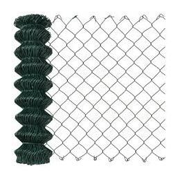 Harmonicagaas groen geplastificeerd 75 cm 25 meter
