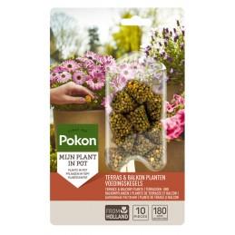 Terras & Balkon Planten Voedingskegels 10st
