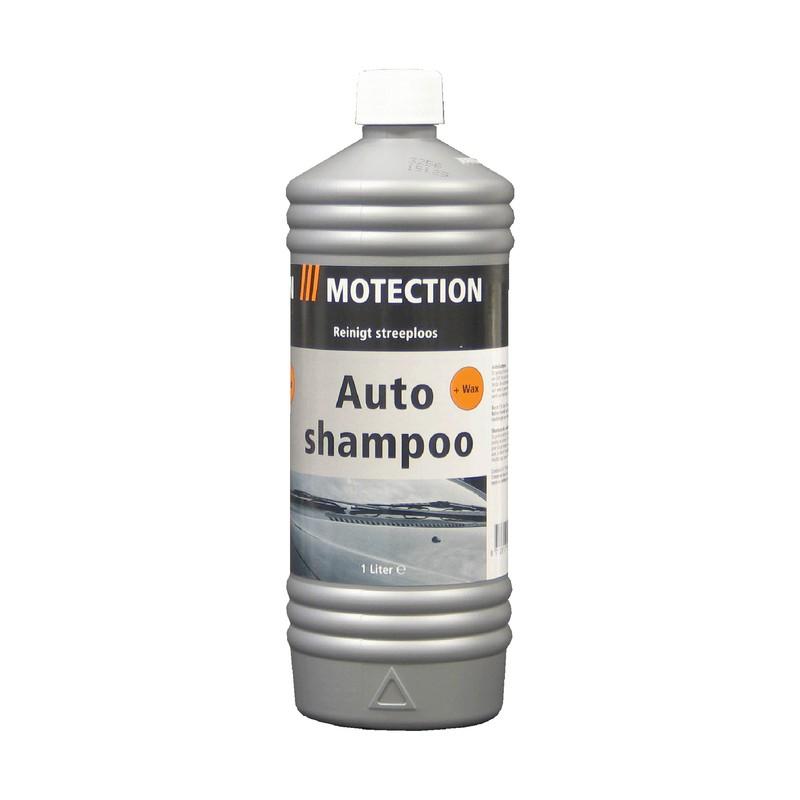 Autoshampoo met wax