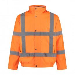 Kuipers pilotjack high visibility RWS oranje