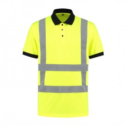 Kuipers High Visibility poloshirt RWS geel