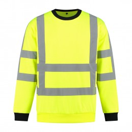 Kuipers High Visibility sweater RWS geel