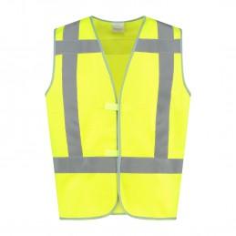Veiligheidshesje kind High Visibility RWS geel