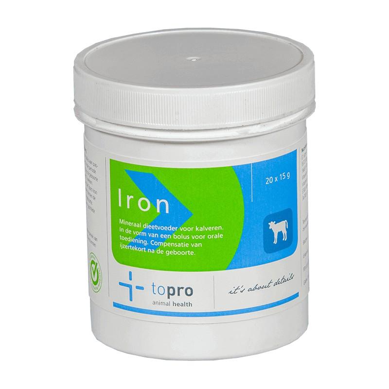 Iron bolus kalf