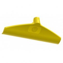 Mestschraper kunststof geel 38 cm