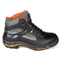 Werkschoenen Grisport 71607 zwart / oranje S3