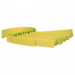 Koeherkenningsbandje 10st. geel